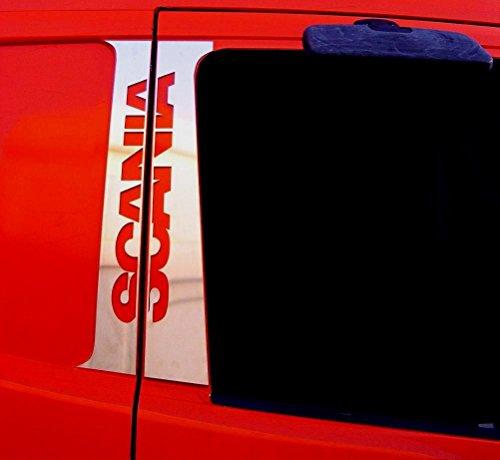 4x Edelstahl poliert chrom Tür Dekorationen für Scania R/L/P Serie Trucks