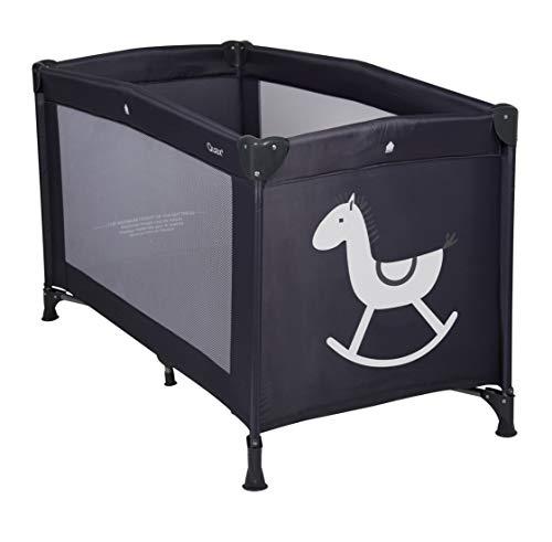 QU-AX Lit Parapluie Cheval à Bascule Rocking Horse