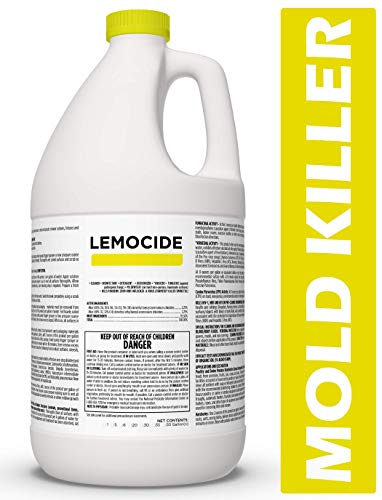 Professional Disinfecting Mildew, Virus & Mold Killer - Cleans & Deodorizes, Lemon Scent (1 Gallon Super Concentrate)