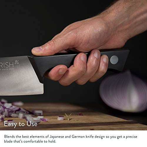 GreaterGoods Chef Knives, Ergonomic Handle, Durable Kitchen Knives w/Balanced Design (German Steel)