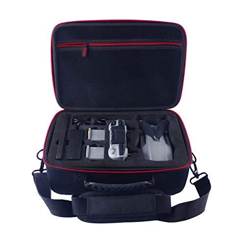 SKYREAT Mavic Air 2 Case Etui Housse de Transport pour DJI Mavic Air 2 Fly More Combo,Fit pour 3 Batteries de Drones,Adaptateur de Chargeur de Batterie et télécommande