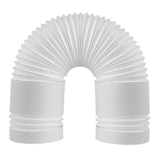 Tubo flessibile, tubo del condizionatore tubo portatile di scarico portatile con tubo con filo in senso antiorario 2m