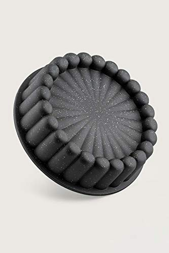 Zellerfeld Kuchenform Kek Kalibi Turta Backform aus hochwertigem Aluguss Cake Form Granit Motiv 1
