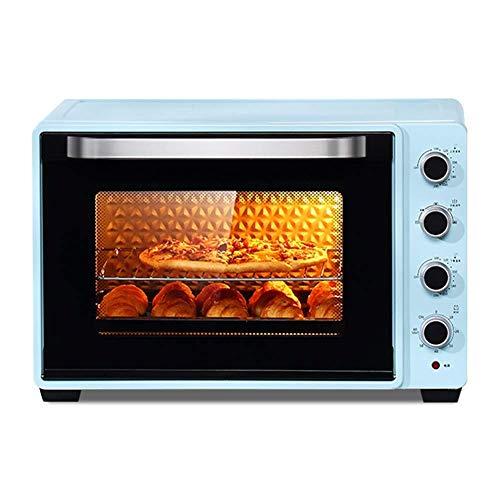 Küche Mini Backofen Aufsatz- Toaster, Großräumige Haushalt und Gewerbe Ofen Inklusive Bake Pan, Broil Rack- und Gabel, Toastbrot, 2200w Kochen