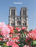 Notre Dame Cathedral Notebook. College Ruled. Composition Notebook. 8.5 x 11. 120 Lined Pages. Gift for Francophiles, France Lovers, Fans of Paris and Travel Lovers.