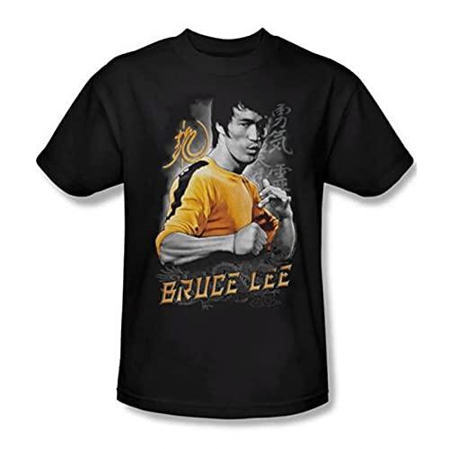 westtrend Camiseta Bruce Lee para Hombre, Camiseta de Manga