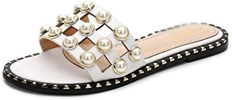 HhGold Damen Flip-Flops Sommer Waichuan Flat Feet Dünger Füße breit Go Out Weiß 8,5 US   39 EU   6 UK (Farbe   Wie Gezeigt, Größe   Einheitsgröße)  | Qualität und Quantität garantiert  | Gewinnen Sie hoch geschätzt