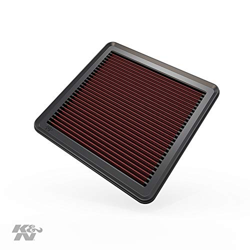 K&N engine air filter, washable and reusable: 2003-2019 Subaru H4/H6 1.5/2.0/2.5/3.6L...