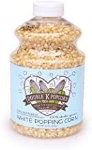 product image for Double K Popcorn White Butterfly Kernels - 30 oz Jar -- Gluten Free -- Soft and Tender with Fewer Hulls