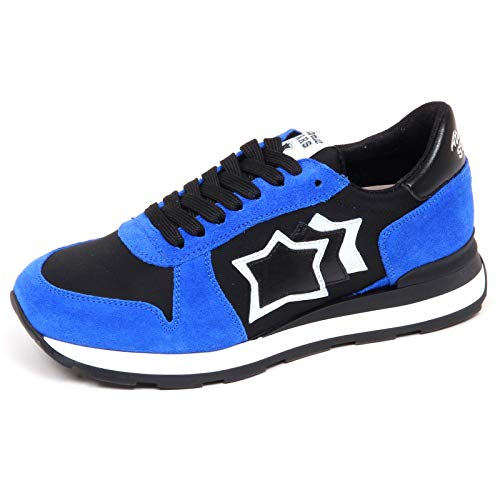 Atlantic Stars F6118 Sneaker Donna Bluette/Black Gemma Shoe Woman [38]