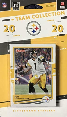 Pittsburgh Steelers 2020 Donruss Factory Sealed 11 Card Team Set Featuring Ben Roethlisberger product image