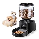 isYoung Comedero Automático 5.5 L de Alimentos para Mascotas Gatos y Perros Alimentador...