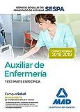 Auxiliar de Enfermería del Servicio de Salud del Principado de Asturias (SESPA). Test Parte Específica