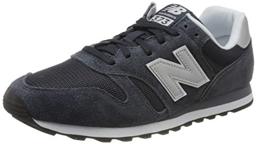 New Balance 373 Core, Baskets Homme, Bleu (Navy/White Cc2), 45 EU