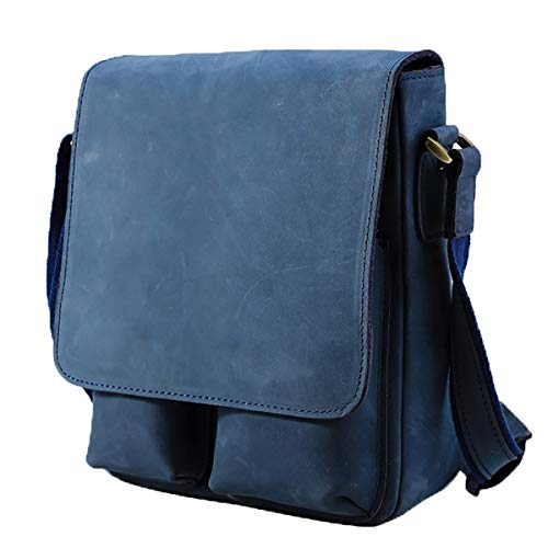 MSKW ショルダーバッグ メンズ 本革 ヌバックレザー 牛革 斜め掛けバッグ メッセンジャーバッグ 鞄 通勤 通学
