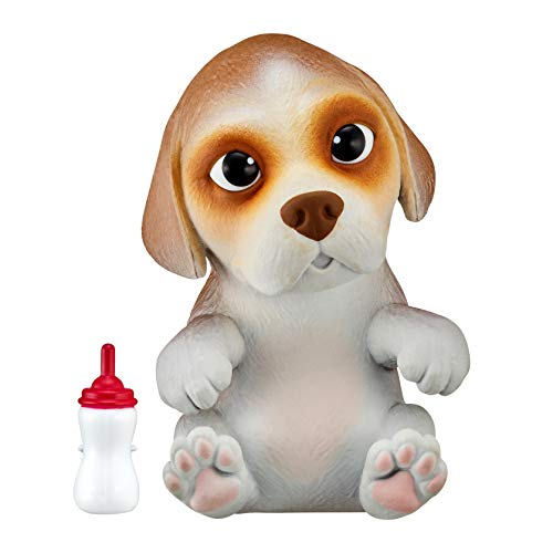 Little Live Pets OMG Pets Soft Squishy Puppy That Comes to Life - Interactive Soft Puppy - Beega, 28918