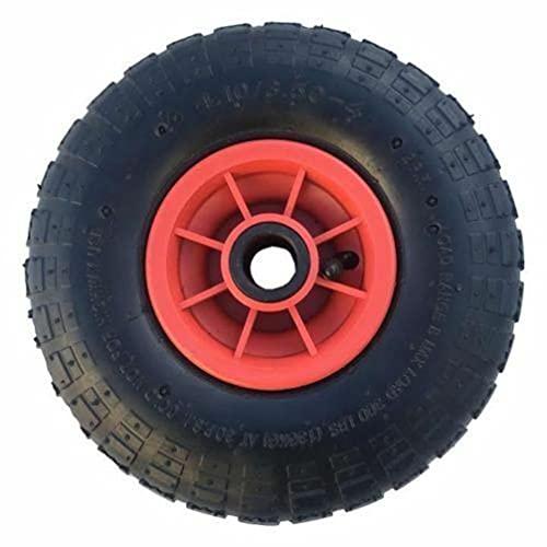 SYTZTOOLS NEUMATIC 4.10 – 4 con bolsa de 1 pulgada para camión con centro de plástico
