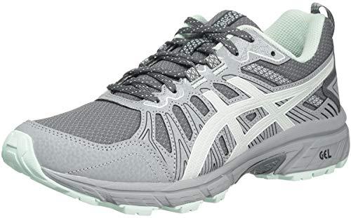 ASICS Gel-Venture 7 - Zapatillas de running para mujer, gris (Gris acero/Gris glaciar), 36.5 EU