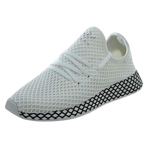 adidas Originals Deerupt Runner Shoe Mens Casual 13 White-Black