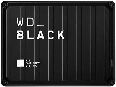 WD Black 5TB P10 Game Drive Portable External Hard Drive Compatible with Playstation Xbox PC product image