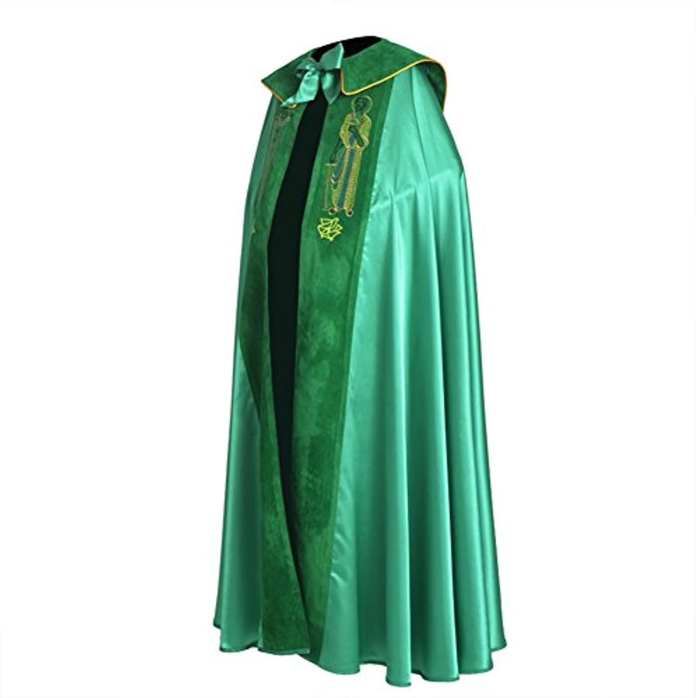 BLESSUME Church Bishop Green Cope liturgical Vestments