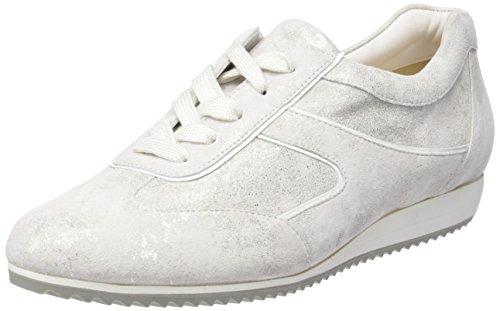 Hassia Piacenza, Weite G Damen Sneaker, Weiß (0200 weiß), 38.5 EU (5.5 UK)