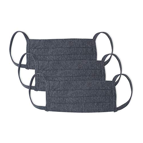 Kit 3Mascaras De Prot.Alg 3Pregas Inter., Mash, Unissex, Cinza Escuro/Cinza Escuro/Cinza Escuro, UN