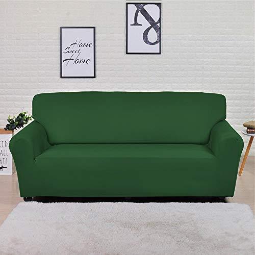Fundas Lisas de patrón sólido Funda de sofá Fundas de sofá elásticas para Sala de Estar Funda de sofá Toalla de sofá Silla Funda de sofá A15 3 plazas