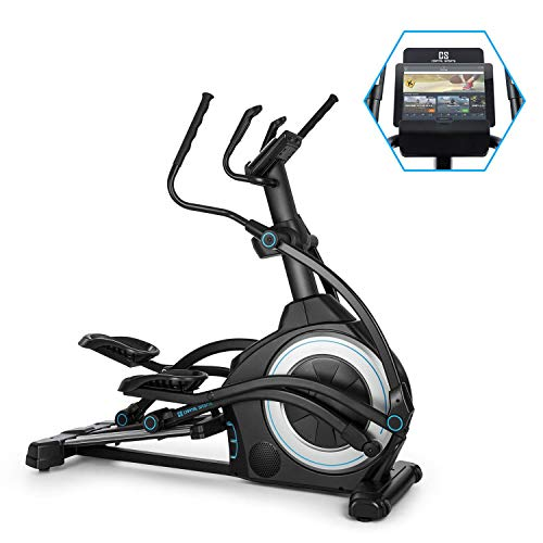 Capital Sports Helix Star UP Orbital Elliptical Cross Trainer - Home Trainer, Kinomap App Support, Bluetooth, InclinePro: 3-Stage Incline Function, Flywheel: 25kg, 32-Stage Magnetic Resistance, Black