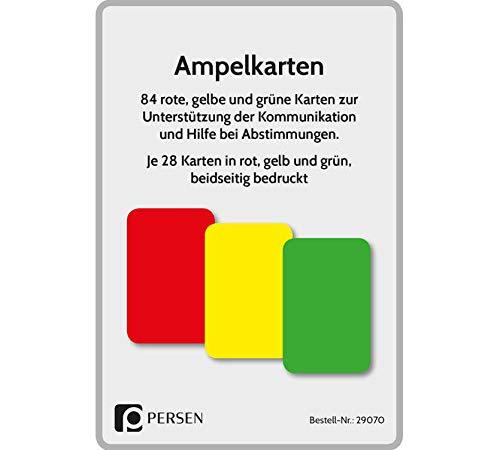 Ampelkarten: Rote, gelbe und grüne Karten zur Unterstützung der Kommunikation und Hilfe bei Abstimmungen (1. bis 4. Klasse)