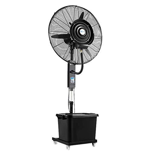 LAZ Industrieller Standventilator, oszillierender leiser, mobiler Sprühnebelbefeuchter-Kühlventilator for gewerbliche Büroräume in Wohngebieten (Size : Diameter 65cm)