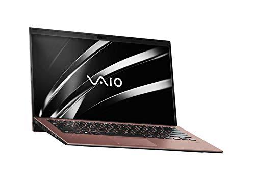 VAIO SX14 Laptop 35,56 cm (14 Zoll) (Full -HD IPS-Display, Intel Core i5- 8265U, 256 GB SSD, 8GB LPDDR3 RAM, Windows 10 Pro, LTE, W-LAN, Bluetooth, HDMI, USB 3.1, Webcam) Notebook, Braun