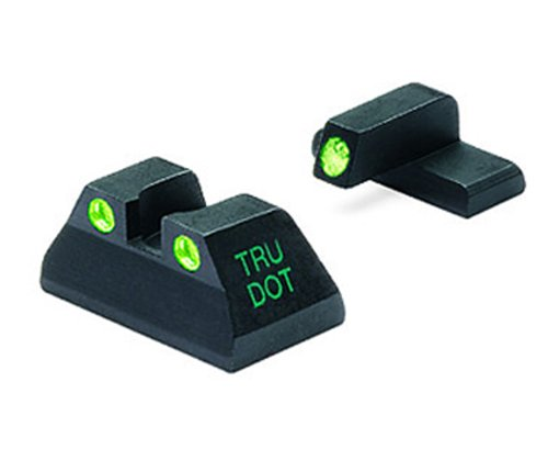 MAKO Heckler & Koch Tru-Dot Night Sight for P2000 compact & sk. fixed set with green rear and front sight