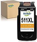 Neiber Remanufacturado Cartucho de Tinta para Canon CL-511XL 511 XL 511XL (1 Tricolor) para Pixma MP230 MP250 MP495 MP280 MP270 MP235 MP499 MP240 MP252 MX410 MX360 MX340 MX350 iP2700 iP2702 Impresora