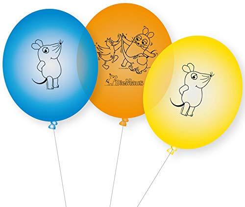 DH-Konzept Die Maus Ballons 8 Stück
