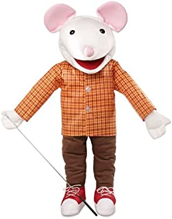 60cm Mouse w/ Sneakers, Full Body, Ventriloquist Style, Animal Puppet