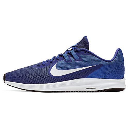 Nike Downshifter 9 Scarpe da Running Uomo, Blu (Deep Blue/White/Game Royal/Black 400), 40.5 EU
