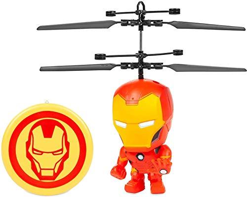 Marvel 3.5 Inch: Iron Man Flying Figure IR Helicopter (Marvel, Avengers, Iron Man)