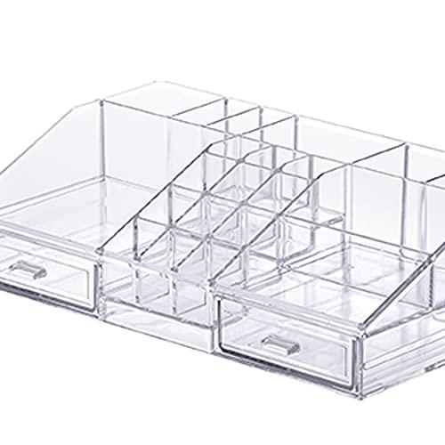 Organizador com Divisórias, Paramount, Transparente, 31,5x19,5x9 cm