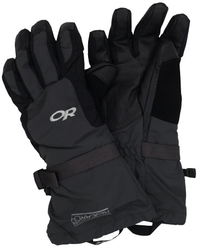 Outdoor Research Men's Ambit Gloves, Black/Charcoal, M