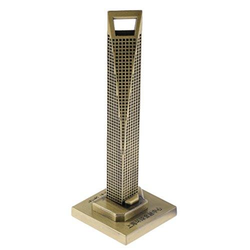 MagiDeal Shanghai World Financial Center (SWFC) Architecture Building Replica Collectible Souvenir 4''