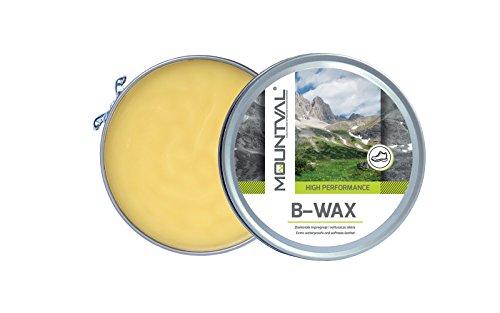 Mountval B-Wax – Imprägnierwachs & Schuhwachs Lederpflege für Lederschuhe und Lederstiefel auf Basis von natürlichem Bienenwachs