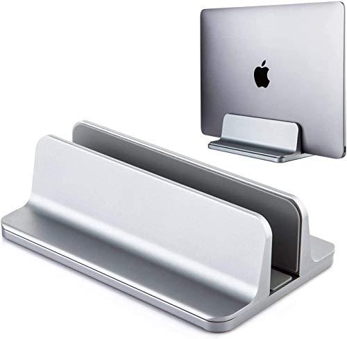 Soporte vertical para computadora portátil, [Escritorio de oficina, oficina en casa] [Soporte para computadora portátil para escritorio] [hasta 17.3 pulgadas]