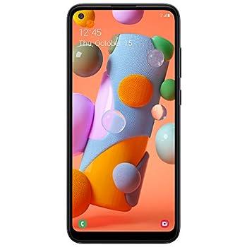 Tracfone Samsung Galaxy A11 4G LTE Prepaid Smartphone  Locked  - Black - 32GB - Sim Card Included - CDMA