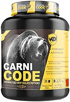 MTX nutrition CARNICODE [2,27Kg] 5Lbs. Vainilla - Hidrolizado PREMIUM de Proteína Aislada de Carne Magra de Ternera [HYDROBEEF] especialmente eficaz ...