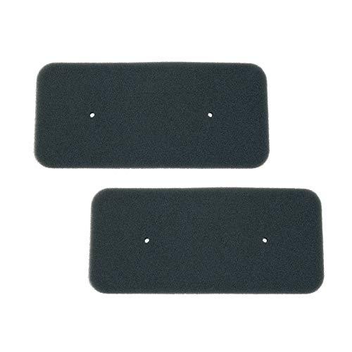 Filtro de esponja para secadora, almohadilla filtrante de evaporador compatible con Candy Hoover 40006731 secadora de condensación – Paquete de 2