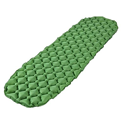 Camping Roll Mat Sleeping Mat Camping Camping Mattress Inflatable Roll Mat Inflatable Sleeping Mat Compact and Moisture Proof for Hiking, Backpacking, Hammock,Tent Waterproof Durable Camping Air Mattr