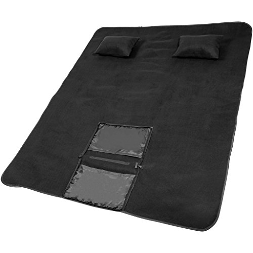 Avenue Picknick-Lounge-Set Chill (32 x 24 x 6 cm) (Schwarz)