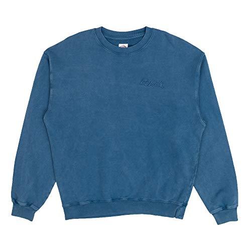 Polar Skate & Co. Sweatshirt ohne Kapuze Gewebe Vintage behandelt L