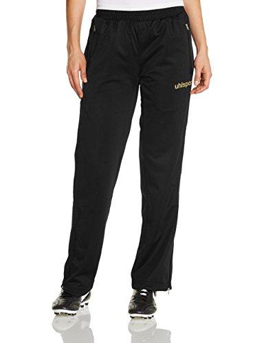 uhlsport Match Classic Pantalon Femmes Noir/doré Noir Noir - Noir/doré XX-Large